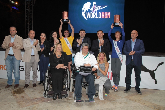 Wings For Life World Run Alanya etabı tamamlandı